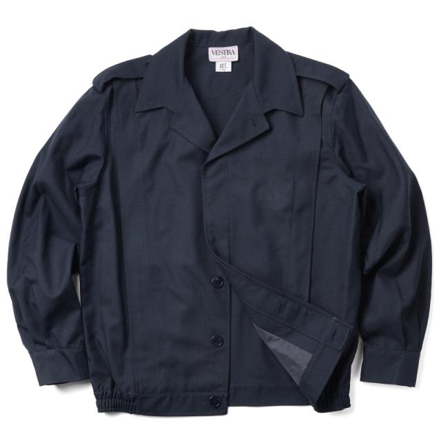 実物 新品 フランス軍ショートウィンドジャケット ネイビー
