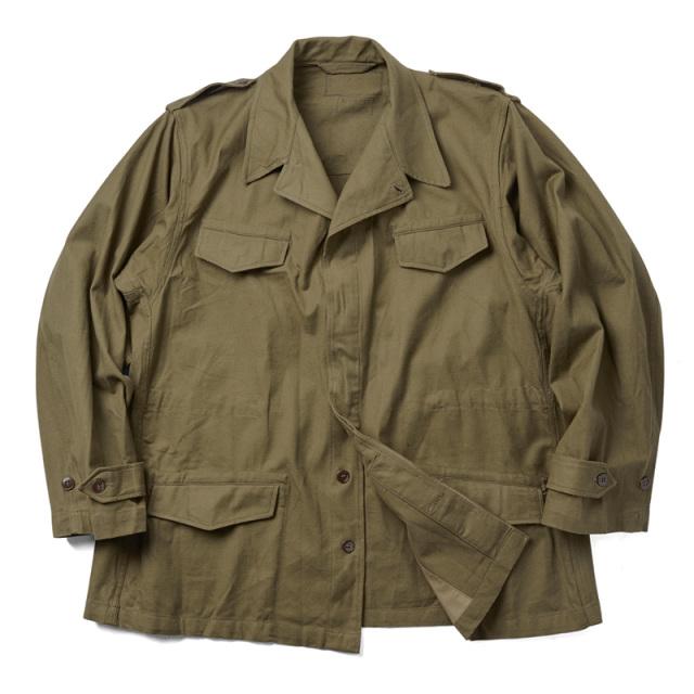 実物 新品 フランス軍 M-47 フィールドジャケット 前期型 コットン製 #2