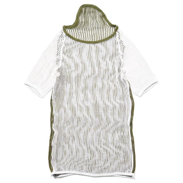 実物 新品 デンマーク軍 ツートンカラー メッシュTシャツ ミリタリー