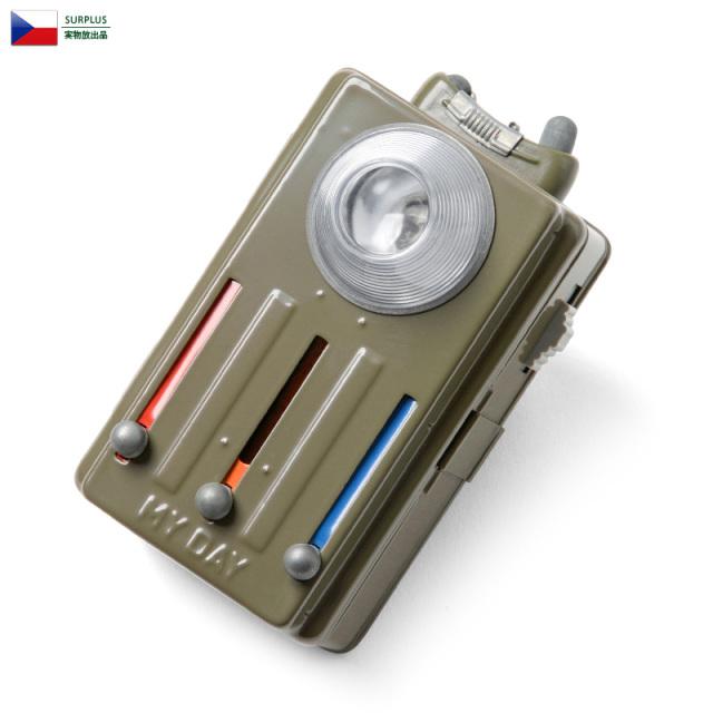 実物 新品 チェコ軍 シグナルライト