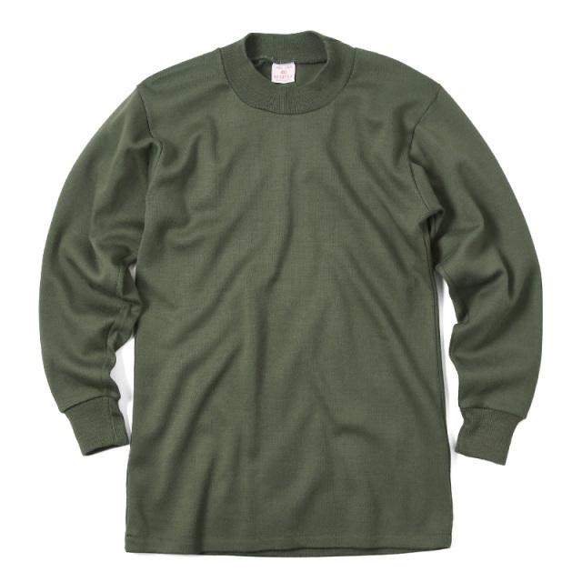 実物 ベルギー軍 スウェットシャツ OD USED