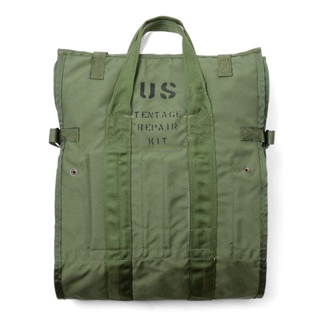 実物 新品 米軍 テントリペアキットバッグ