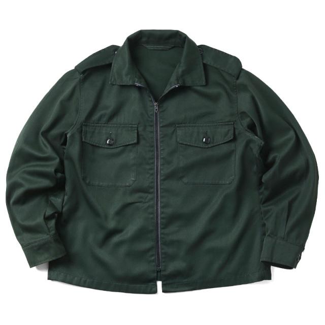 実物 USED カナダ軍 2ポケット ファティーグジャケット