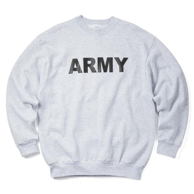 実物 新品 米陸軍 PFU ARMYスウェットシャツ