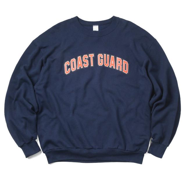 実物 新品 米軍 COAST GUARD(沿岸警備隊)スウェットシャツ