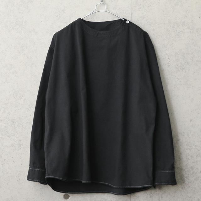 実物 新品 デッドストック ルーマニア軍 スリーピングシャツ BLACK染め