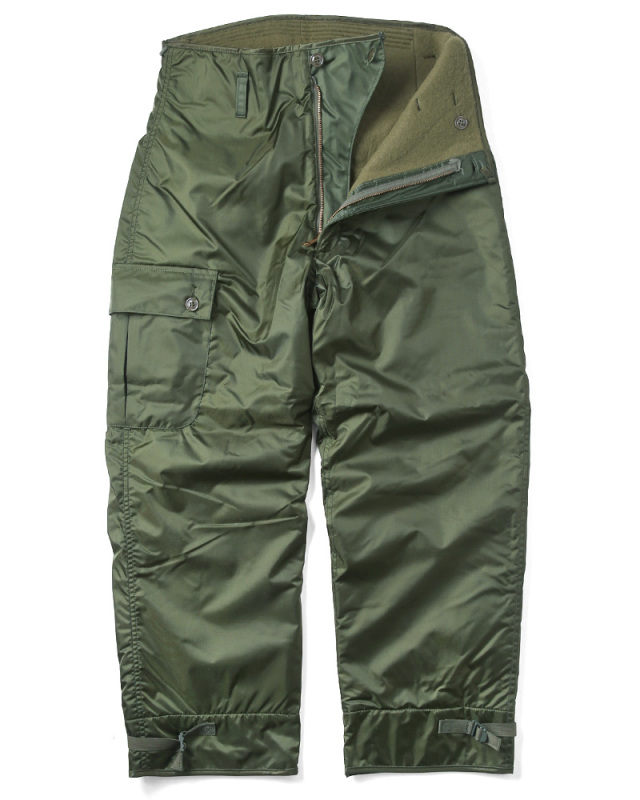 実物 新品 米軍 U.S.NAVY EXTREME COLD WEATHER IMPERMEABLE デッキパンツ