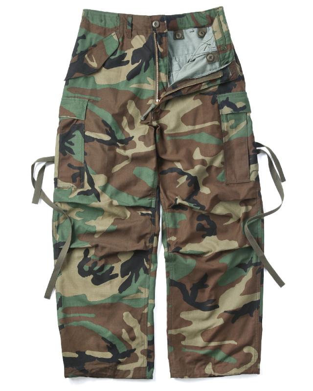実物 新品 米軍 M-65フィールドカーゴパンツ ウッドランド迷彩