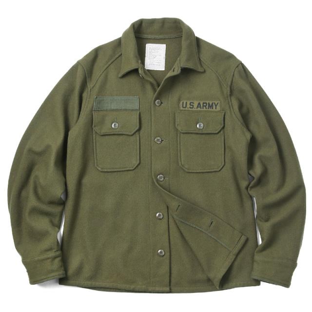 実物 USED 米軍 ヴィンテージ ウールシャツジャケット #2