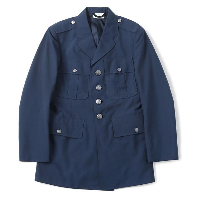 実物 新品 米軍 U.S.AIR FORCE ブルーシェード TROPICAL ユニフォーム ドレスジャケット