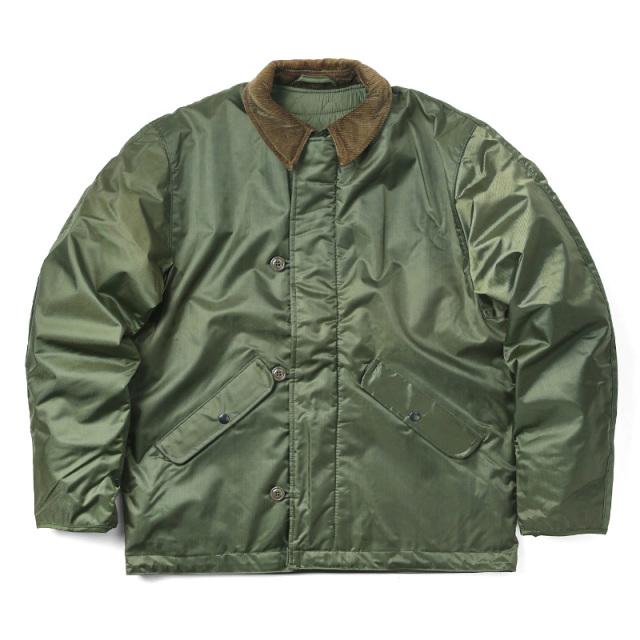 実物 新品 米軍 U.S.NAVY EXTREME COLD WEATHER IMPERMEABLE デッキジャケット