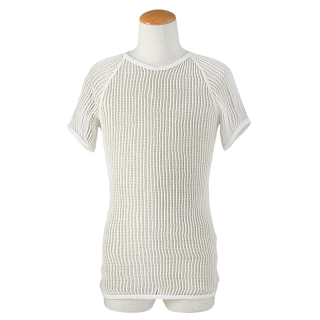 実物 USED デンマーク軍 ベースレイヤー ネットTシャツ
