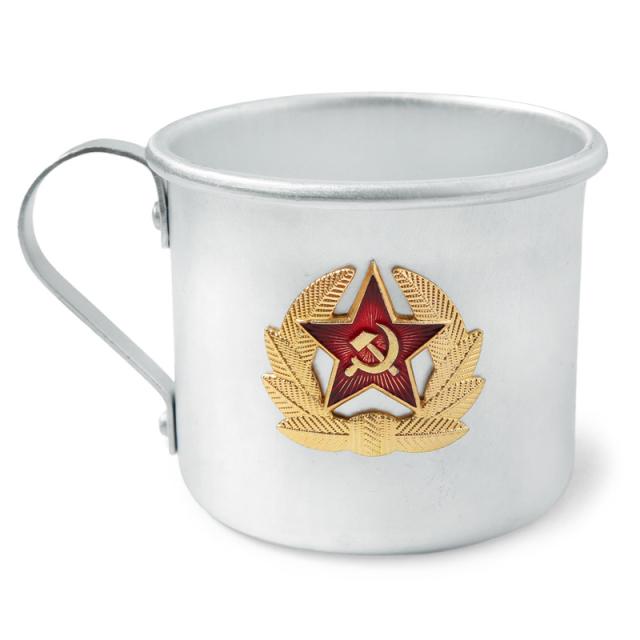 実物 新品 ロシア軍 マグカップ ARMY