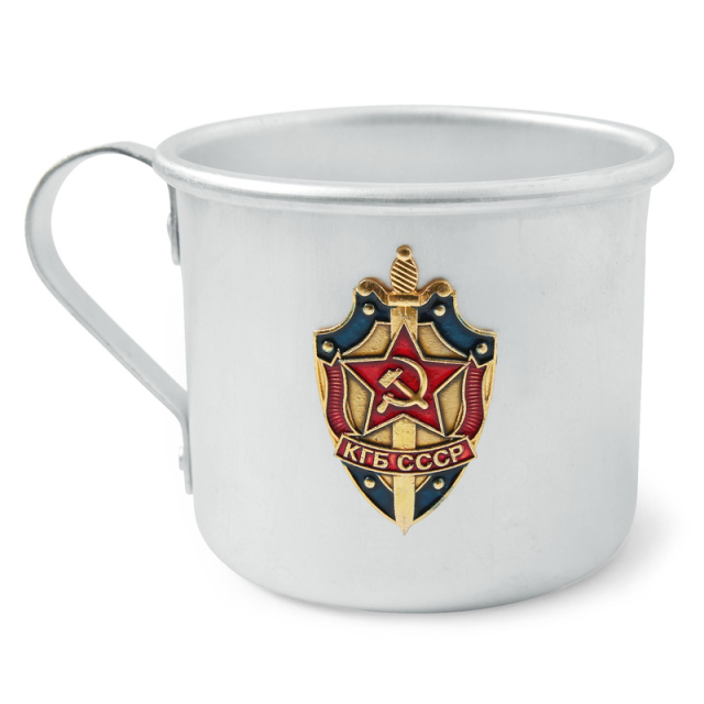 実物 新品 ロシア軍 マグカップ KGB