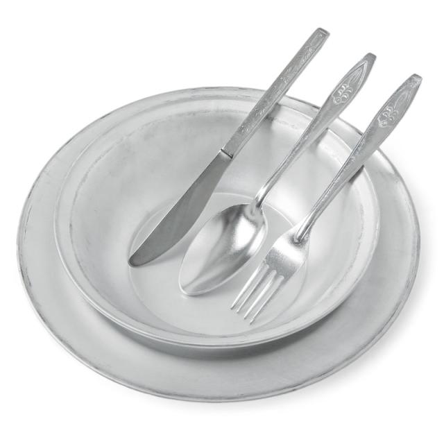 実物 新品 ロシア軍 食器 カトラリー 5点 セット
