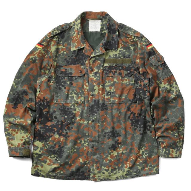 実物 USED ドイツ軍 フレクターカモジャケット