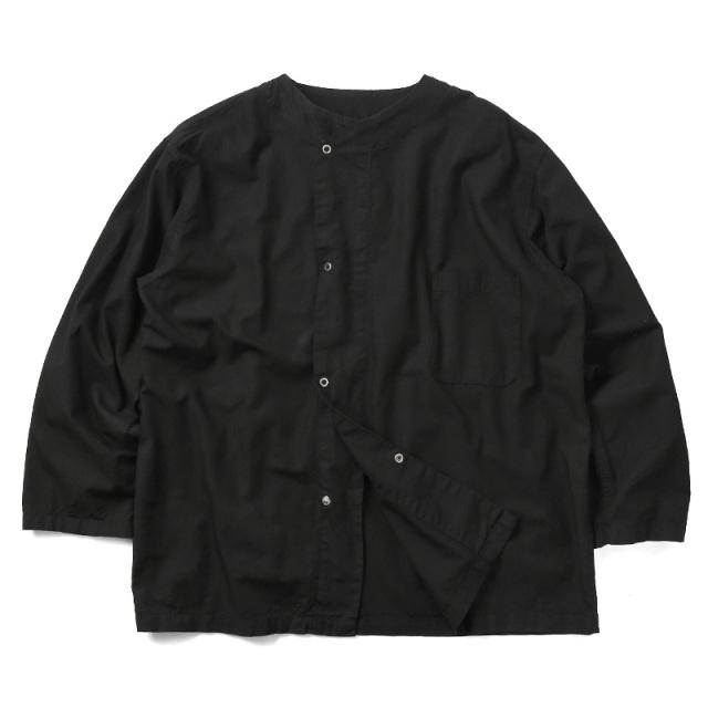 実物 新品 米軍 U.S.ARMY MEDICAL スリーピングシャツ BLACK染め