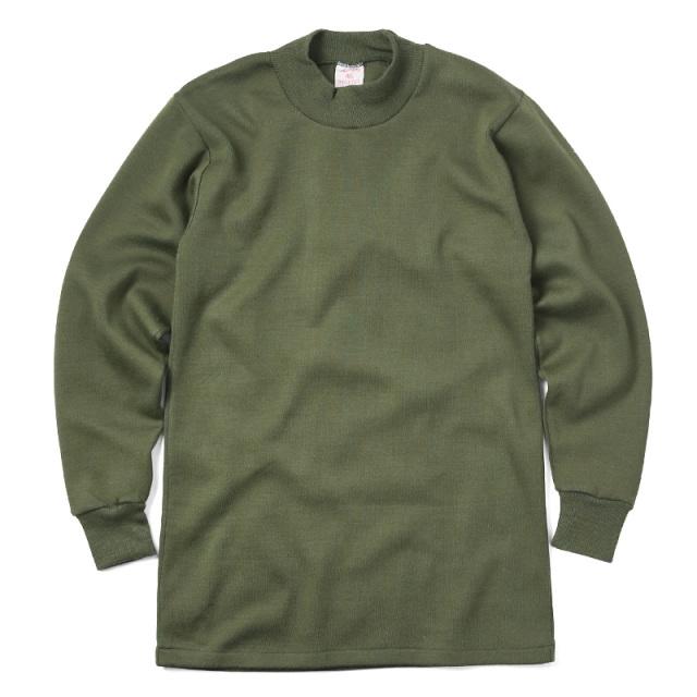実物 新品 ベルギー軍 スウェットシャツ