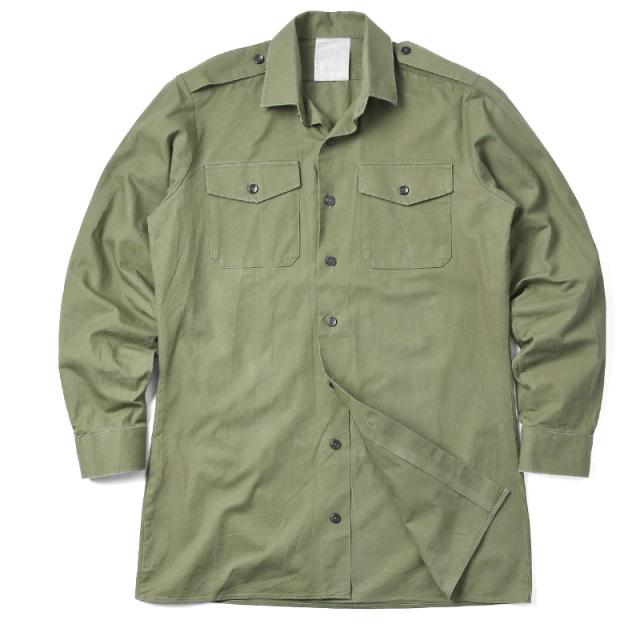 実物 USED イギリス軍 フィールドシャツ