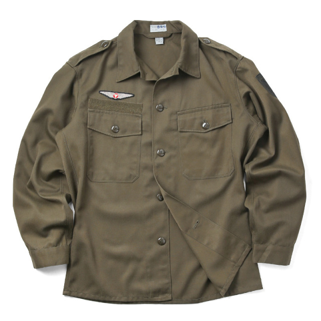 実物 USED オーストリア軍 AIR FORCE コンバットシャツ