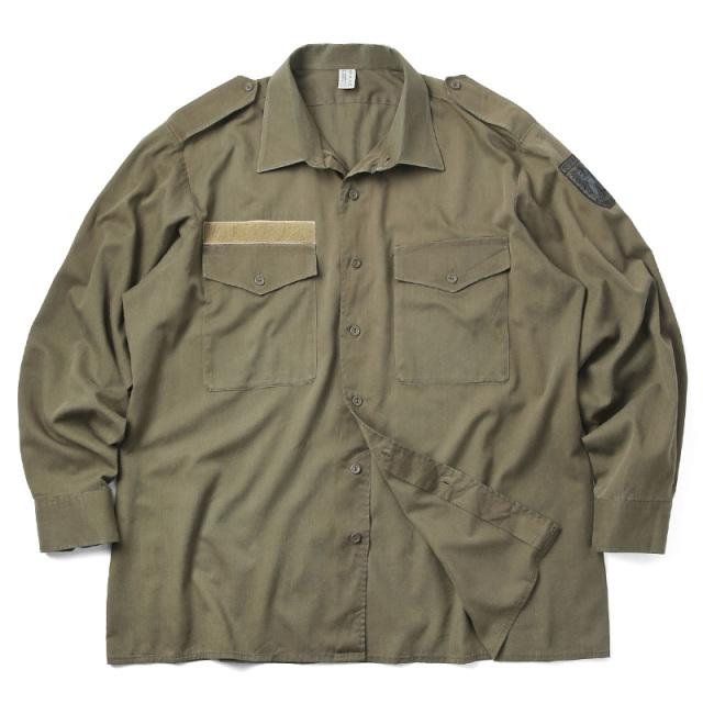 実物 USED オーストリア軍 フィールドシャツ