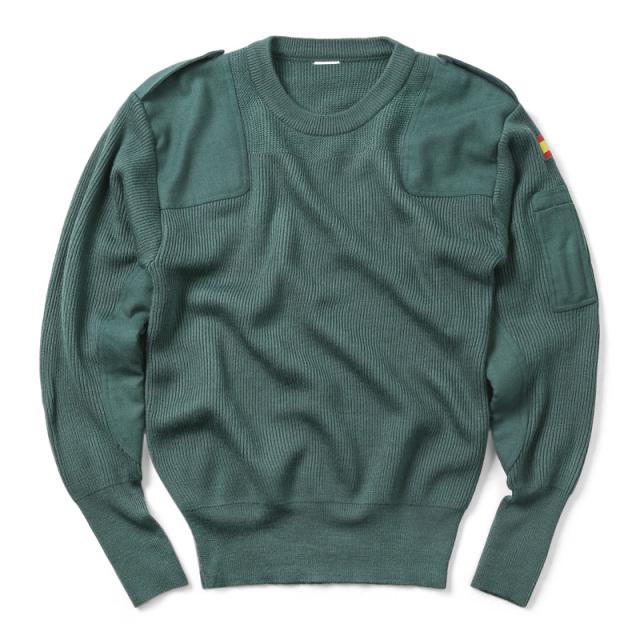 実物 新品 スペイン軍 ARMY コマンドセーター