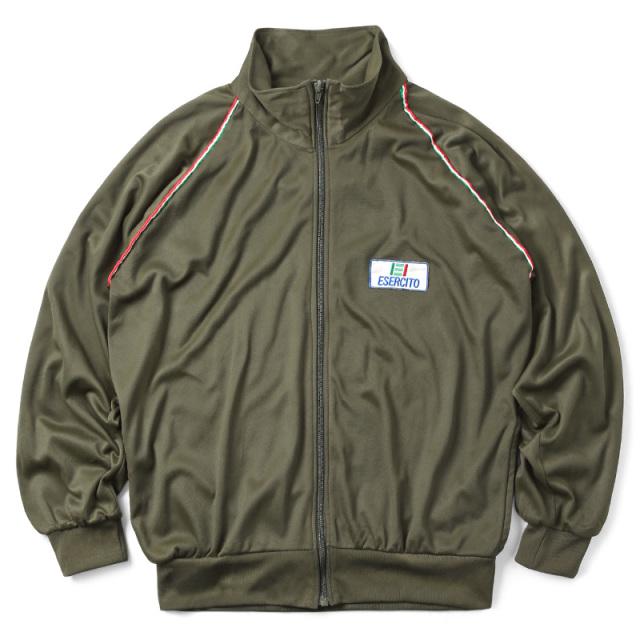 実物 USED イタリア軍 トレーニング ジャケット スタンドカラー