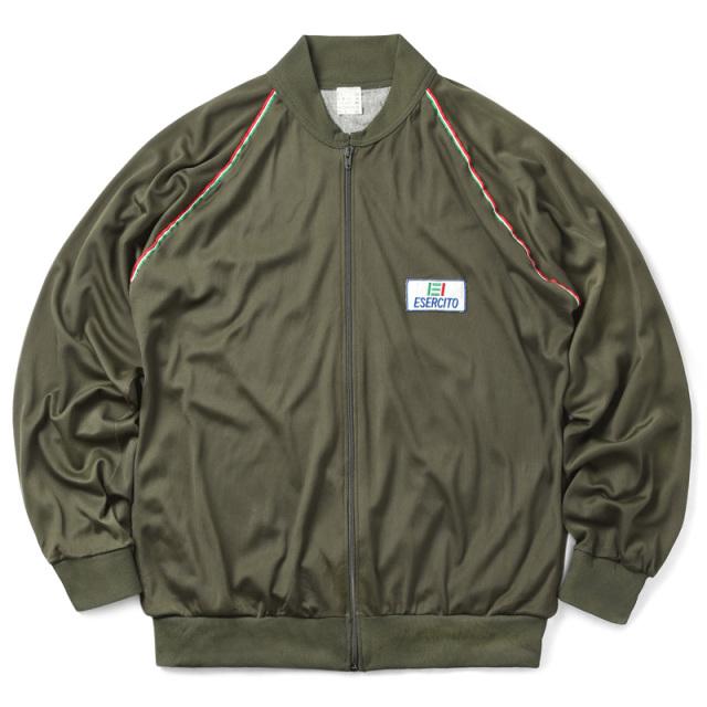 実物 USED イタリア軍 トレーニング ジャケット リブカラー