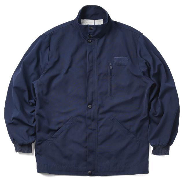 実物 USED フランス海軍 スタンドカラー デッキジャケット