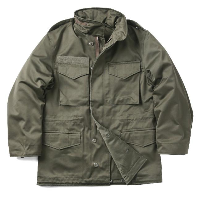 実物 新品 オーストリア軍 M-65フィールドジャケット