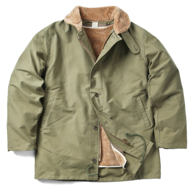 希少 実物 新品 イタリア海軍 デッキジャケット