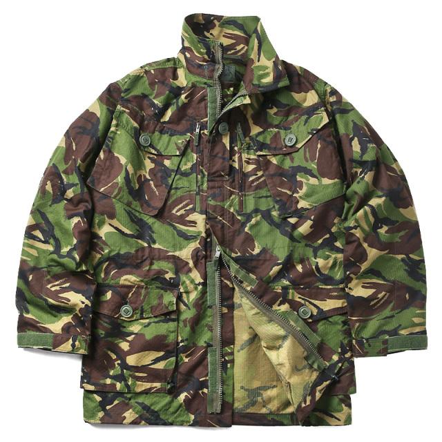 実物 新品 イギリス軍 リップストップ スモックジャケット DPM CAMO
