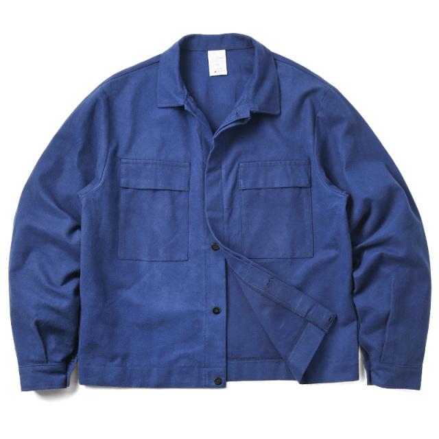 実物 新品 イタリア軍 モールスキン ワークジャケット