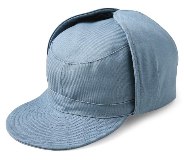 実物 USED スウェーデン軍 CIVIL DEFENCE ウィンター パイロットキャップ 帽子