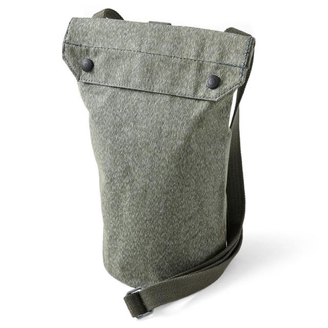 実物 USED スイス軍 ソルト&ペッパー ガスマスク ショルダーバッグ