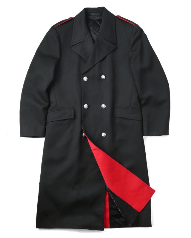 実物 新品 イタリア軍 国家憲兵隊 カラビニエリ ロングオーバーコート