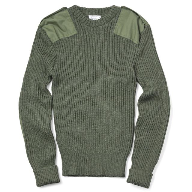 実物 USED イギリス軍 コマンドセーター