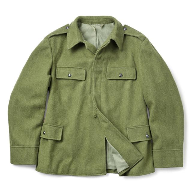 実物 USED ルーマニア軍 ウール フィールドジャケット