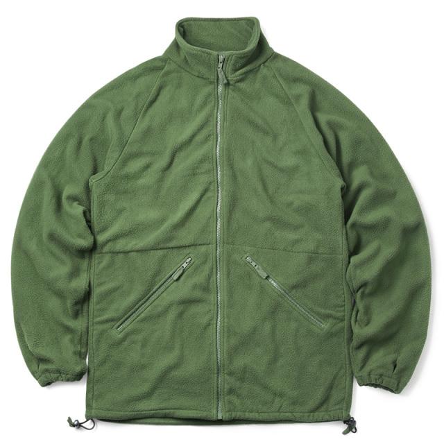 実物 USED イギリス軍 スタンドカラー フリースジャケット