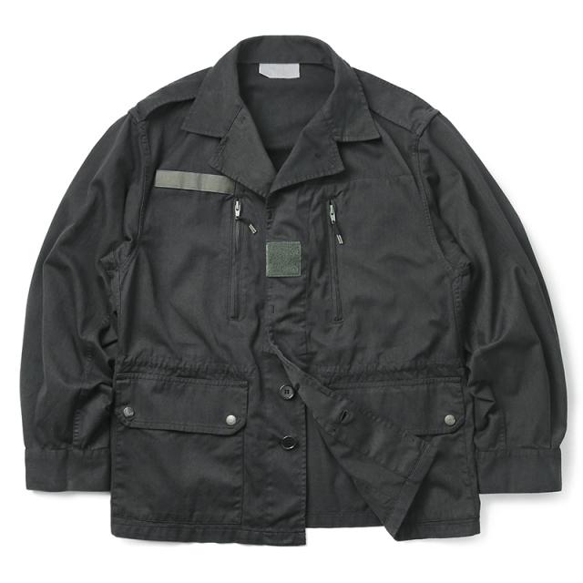 実物 新品 フランス軍 F-1ジャケット BLACK染め