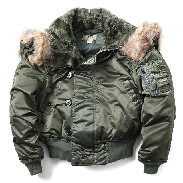 CORINTH MFG CO コリンズ MADE IN USA N-2Bフライトジャケット SAGE GREEN【キャンペーン対象外】 ミリタリーファッション
