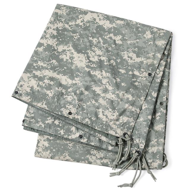 実物 USED 米軍 REVERSIBLE FIELD TARP(リバーシブル フィールド タープ)ACU