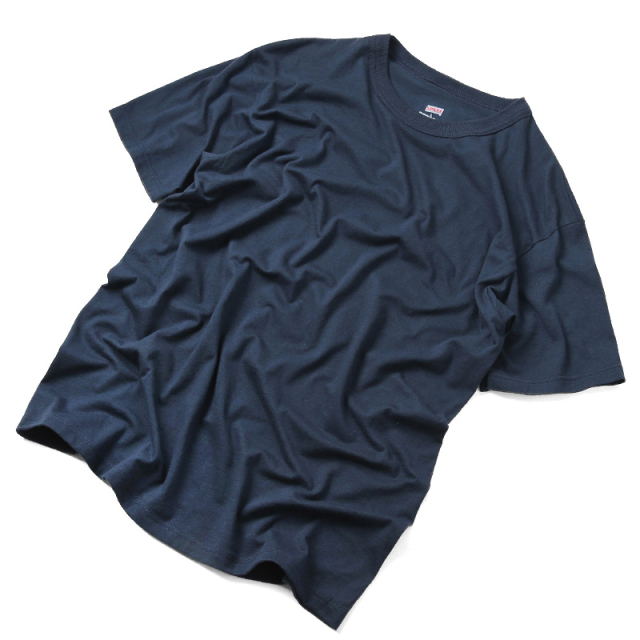 MADE IN USA SOFFE製 新品デッドストック 米軍使用 U.S. NAVY Tシャツ コットン×ポリエステル