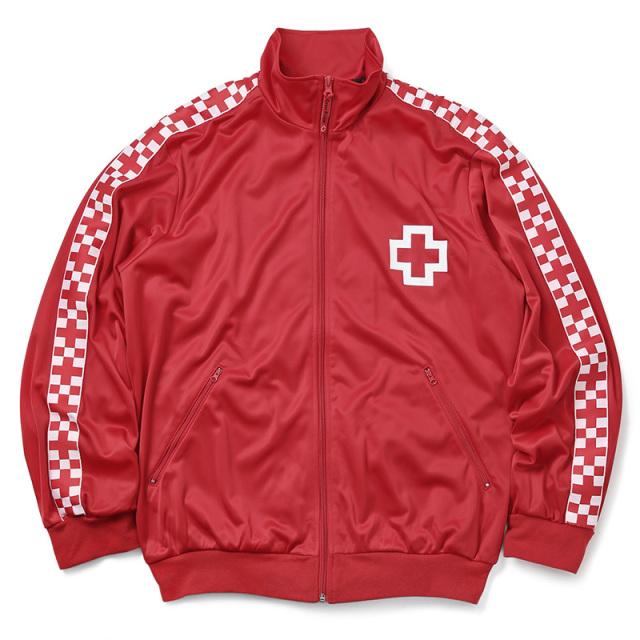 実物 新品 スペイン赤十字 レッドクロス トレーニング トラックジャケット