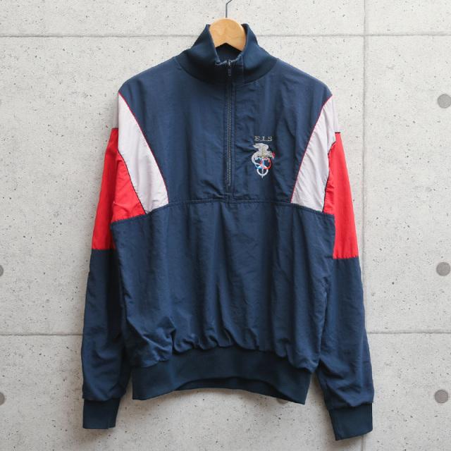 実物 USED フランス軍 プルオーバー トレーニング ジャケット