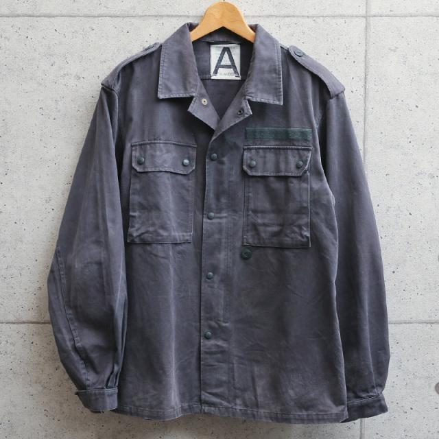 実物 USED ドイツ軍 グレー フィールドジャケット