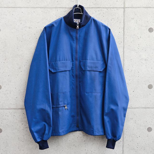 実物 新品 デッドストック スウェーデン軍 ライトウェイト ブルー トラックジャケット