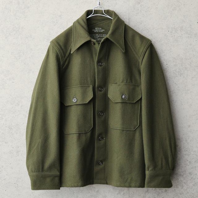 実物 新品 デッドストック 米軍 ヴィンテージ ウールシャツ OG-108