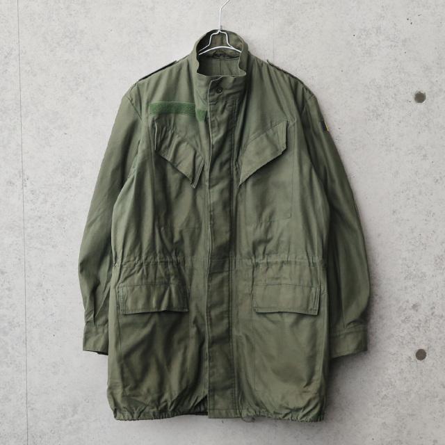 実物 USED ベルギー軍 M-88 フィールドジャケット スタンドカラー SEYNTEX社製