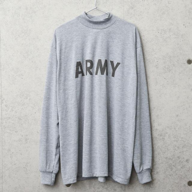 実物 新品 デッドストック 米軍 PFU ARMY ロングスリーブTシャツ